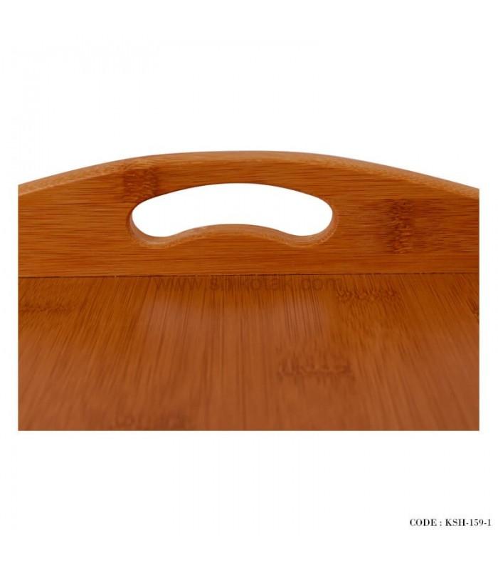 سینی پذیرایی چوبی دو سایز