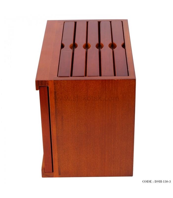 مدل قاب عکس چوبی پنج تایی کشویی