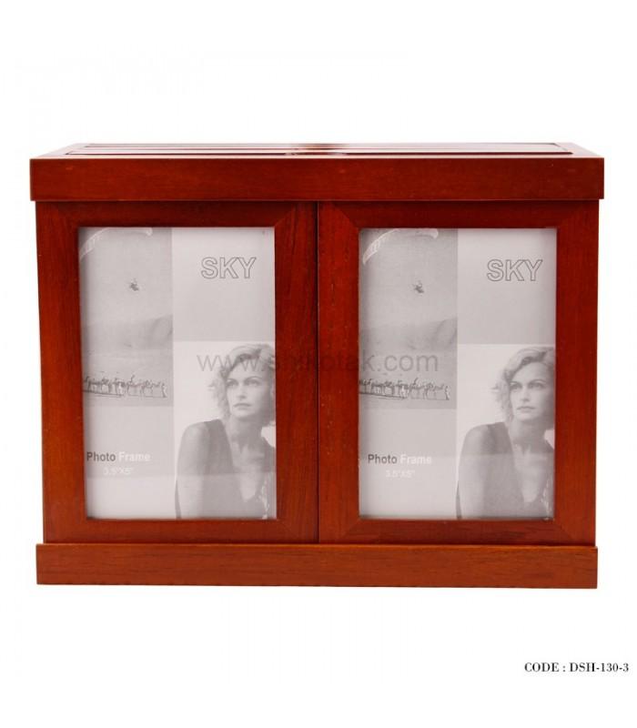 آلبوم و قاب عکس چوبی پنج تایی