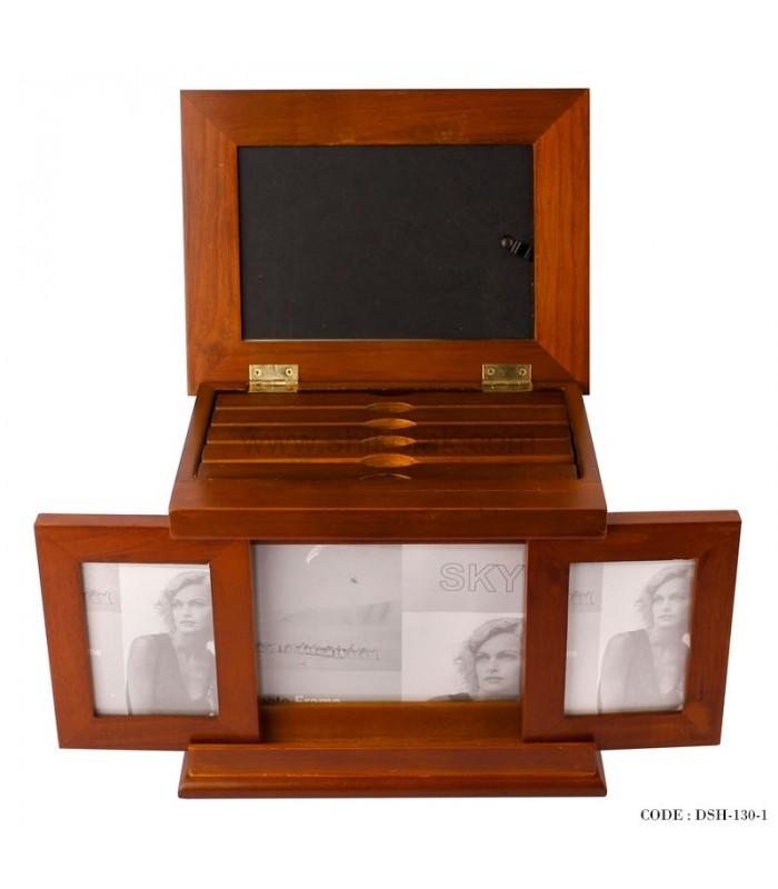 آلبوم چوبی پنج تایی در دار