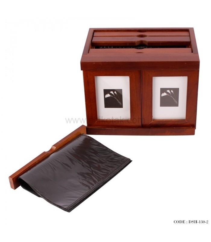 آلبوم عکس 4 تایی چوبی