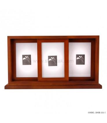 قاب عکس چوبی سه تایی