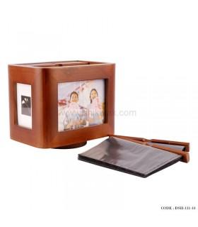 مدل آلبوم عکس 5 تایی چوبی چرخان