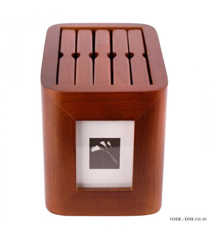 جدیدترین مدل آلبوم عکس 5 تایی چوبی چرخان