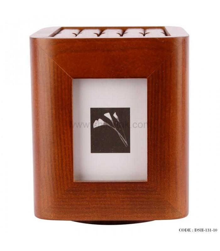 قاب عکس 5 تایی چوبی چرخان