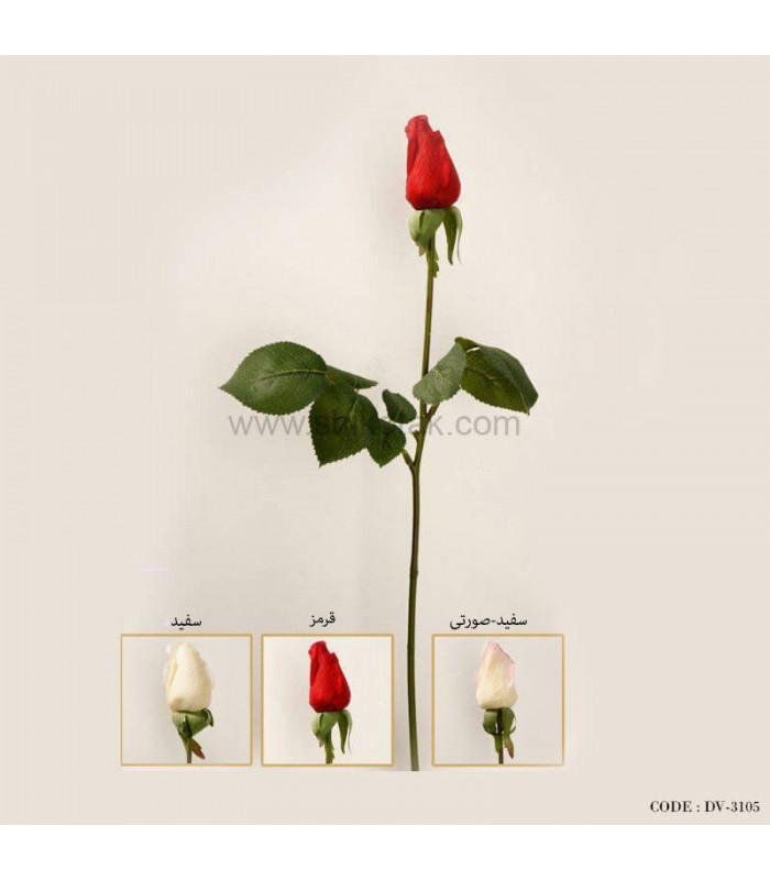 غنچه گل رز مصنوعی