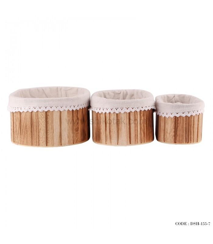 سبدنان چوبی جدید