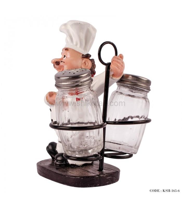 مدل مسجمه نمک پاش طرح سرآشپز