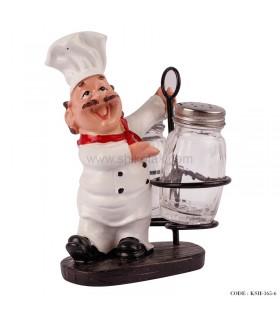 جا نمکپاش رومیزی طرح سرآشپز