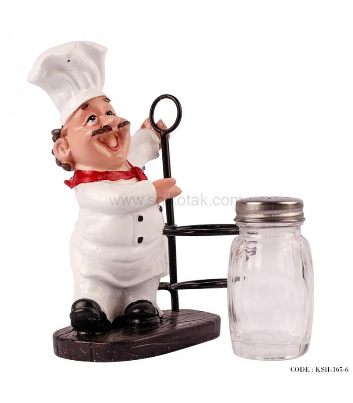 نمک پاش طرح سرآشپز