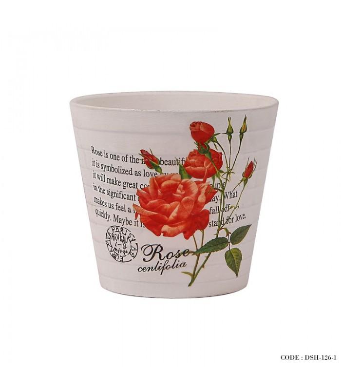 مدل گلدان گل طبیعی سرامیکی سری g