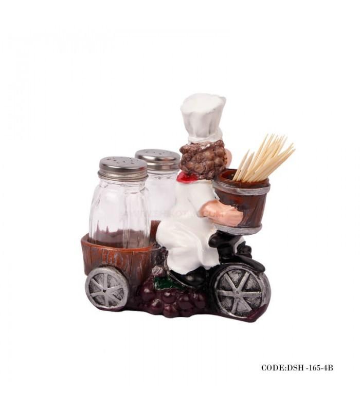 خرید اینترنتی مجسمه جاخلال طرح آشپز