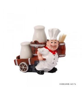 نمک پاش آشپزخانه طرح آشپز