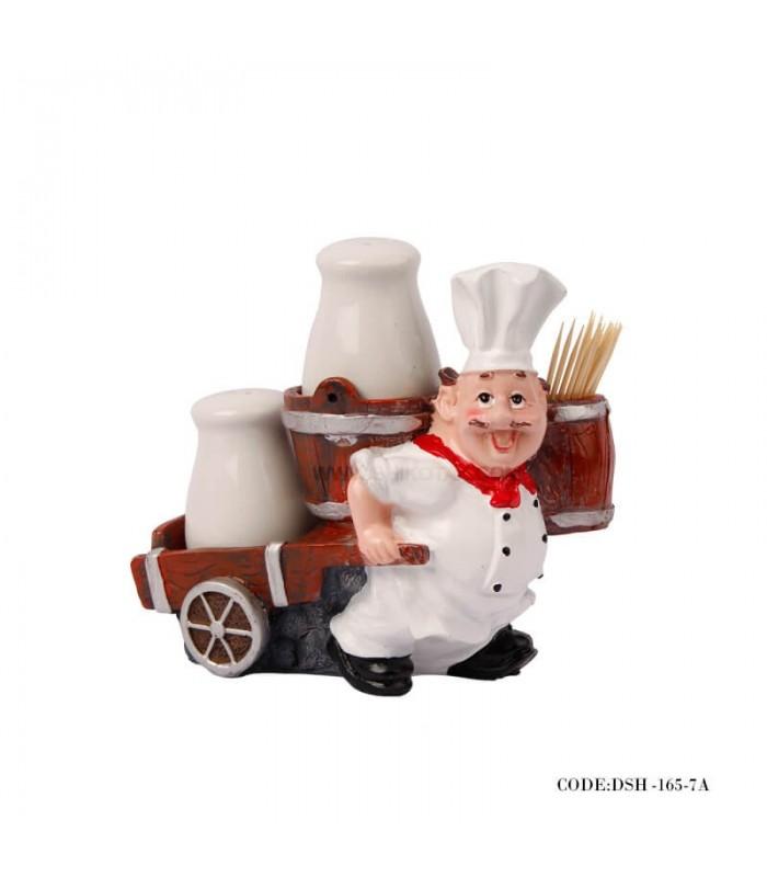 نمک پاش و جاخلالی آشپز