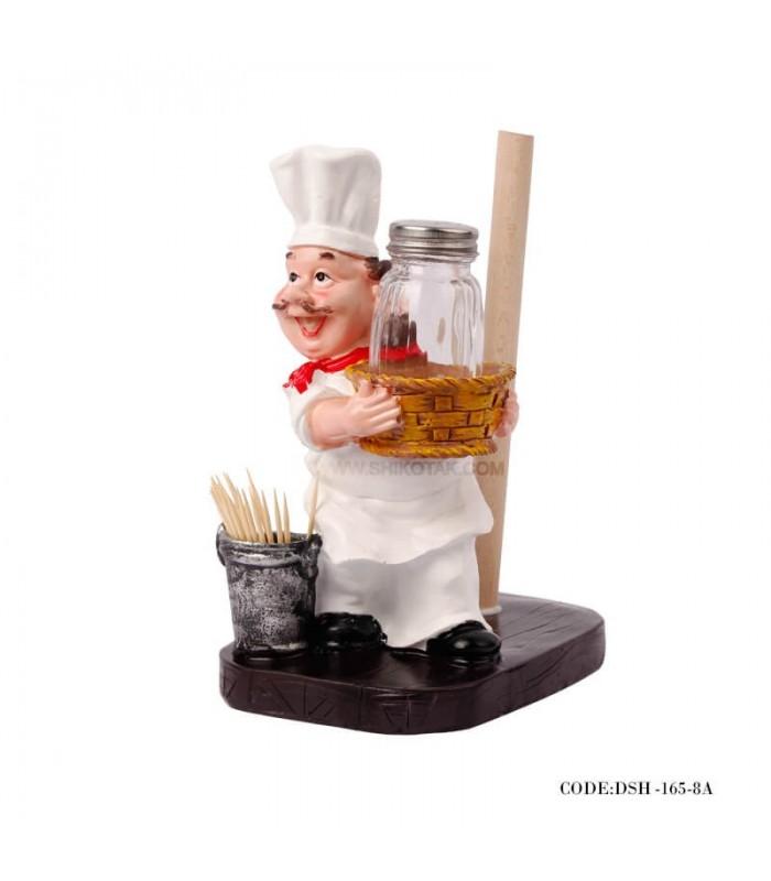 ست کامل مجسمه آشپزخانه طرح سرآشپز