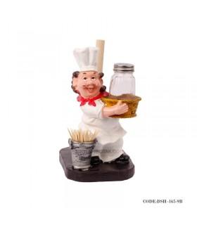 نمک پاش و جادستمالی آشپز سطل دار