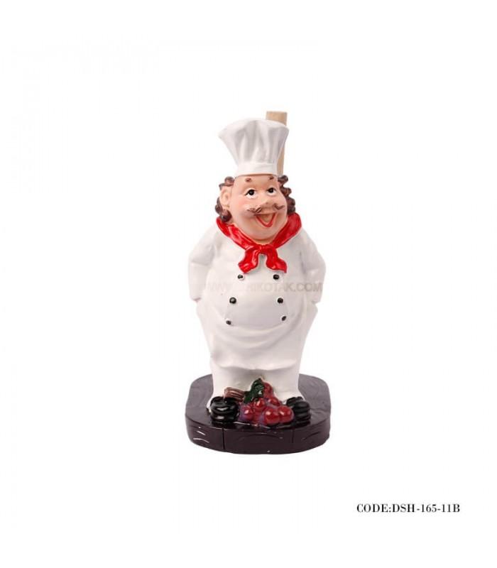 جا دستمال رولی آشپزخانه طرح سرآشپز