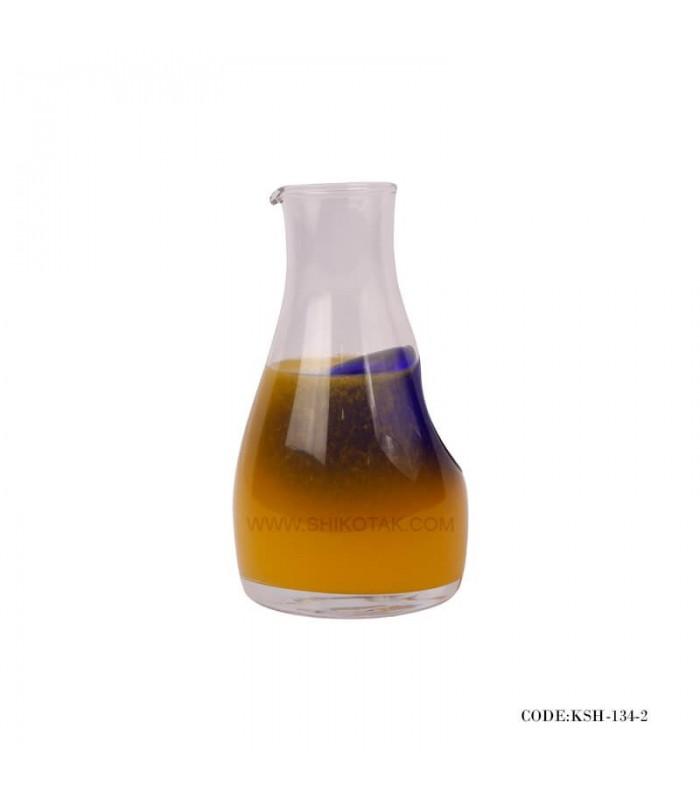 خرید شربت خوری فانتزی شیشه ای