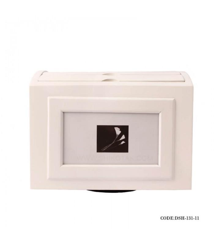 خرید اینترنتی آلبوم سفید چوبی 5 تایی