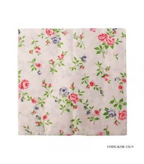 دستمال تو سینی کاغذی طرح گل های رز