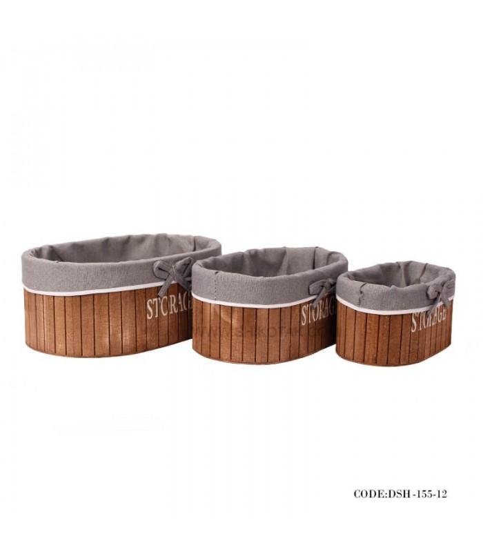 فروش باکس کمجا داخل کمد چوبی سه سایز