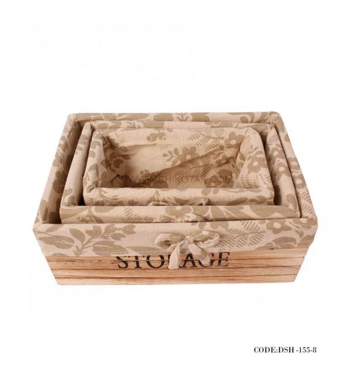 فروش باکس چوبی نظم دهنده کمد سه سایز