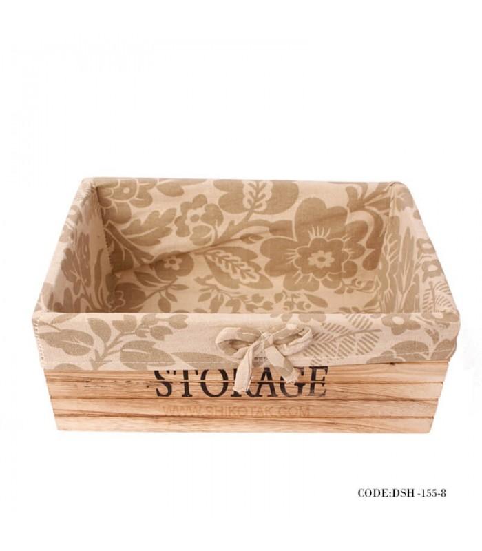 جعبه نگهداری دارو چوبی