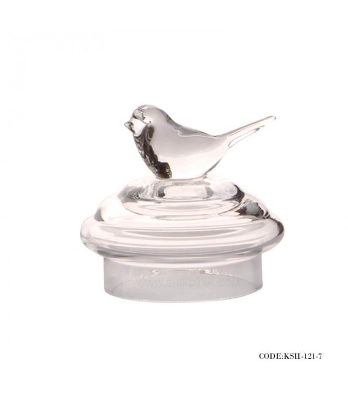 کندی باکس شیشه ای طرح پرنده سری 7-121