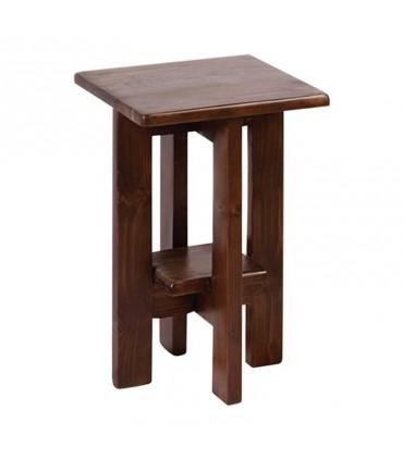 نیمکت چوبی دله وس کوتاه مربع