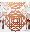 خرید آنلاین زیر لیوانی شیک رامادون سری 115 نقره ای