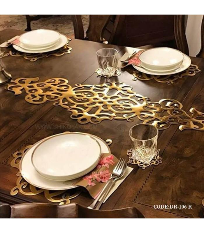 فروش رومیزی رانر رامادون سری 106 طلایی