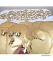 خرید حلقه دستمال پاپیونی رامادون سری 109-1