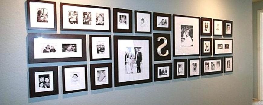 روش های حرفه ای چیدمان قاب عکس روی دیوار را بیاموزید!