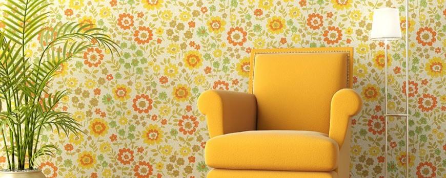 انتخاب کاغذ دیواری مناسب با توجه به فضای شما