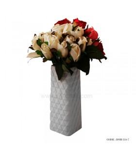 گلدان سرامیکی رومیزی طرح مثلث