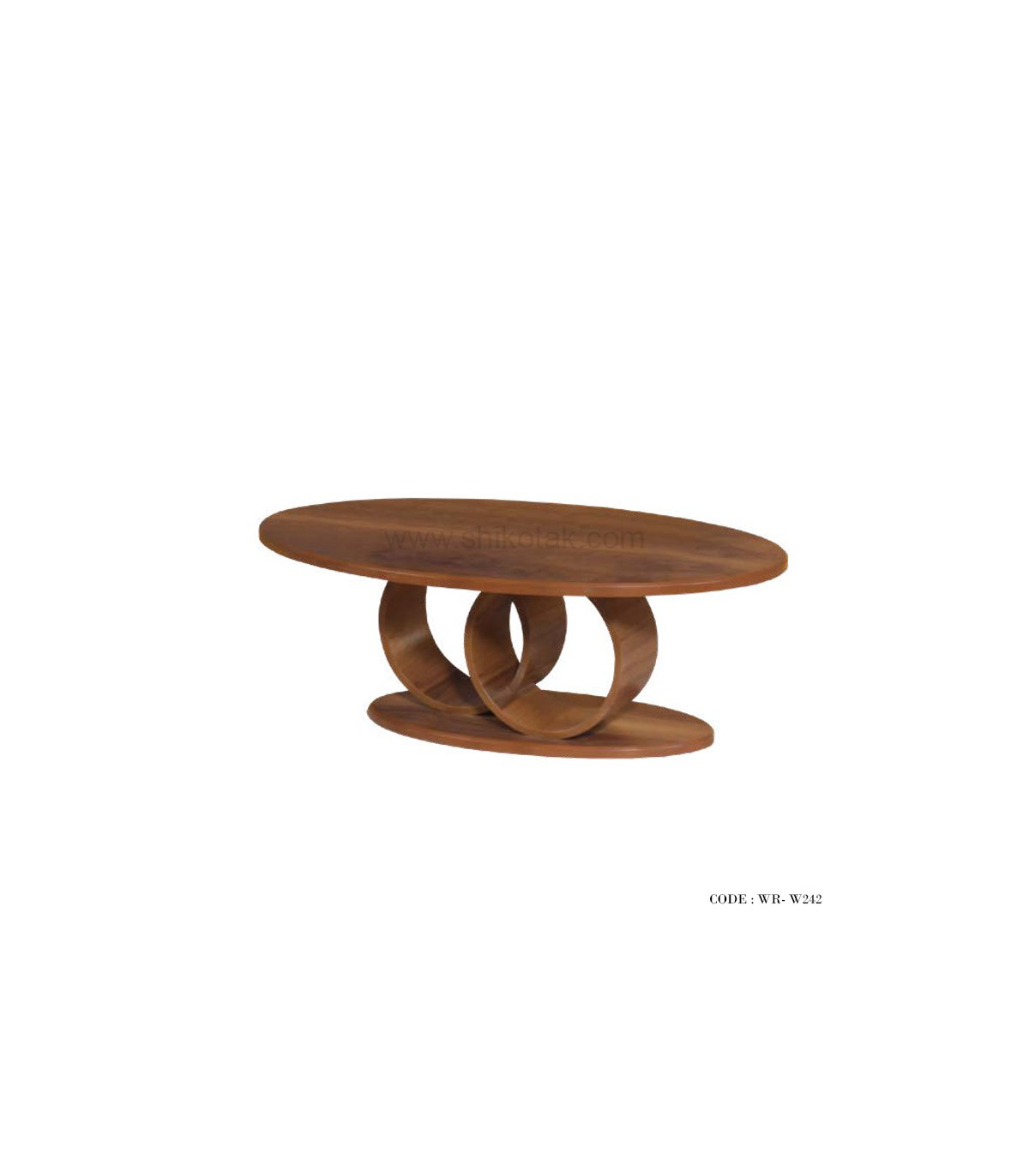 میز پایه دایره ای