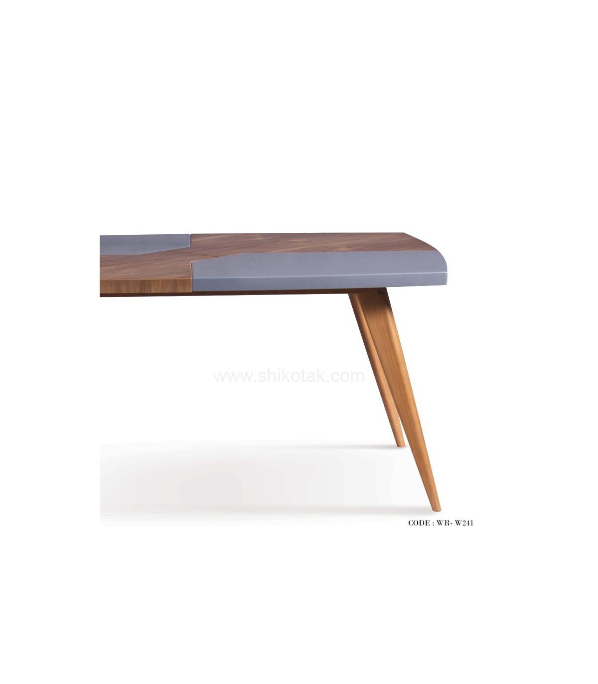 نمای میز سرویس میز و صندلی ناهار خوری راحت کوچک