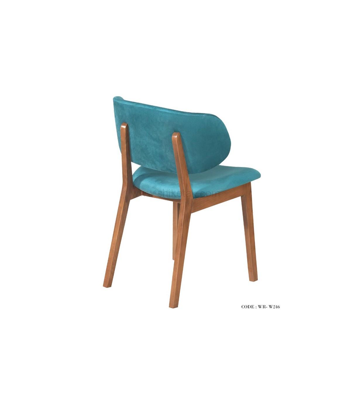نمای پشت صندلی ست ناهار خوری طرح میز ضربدری