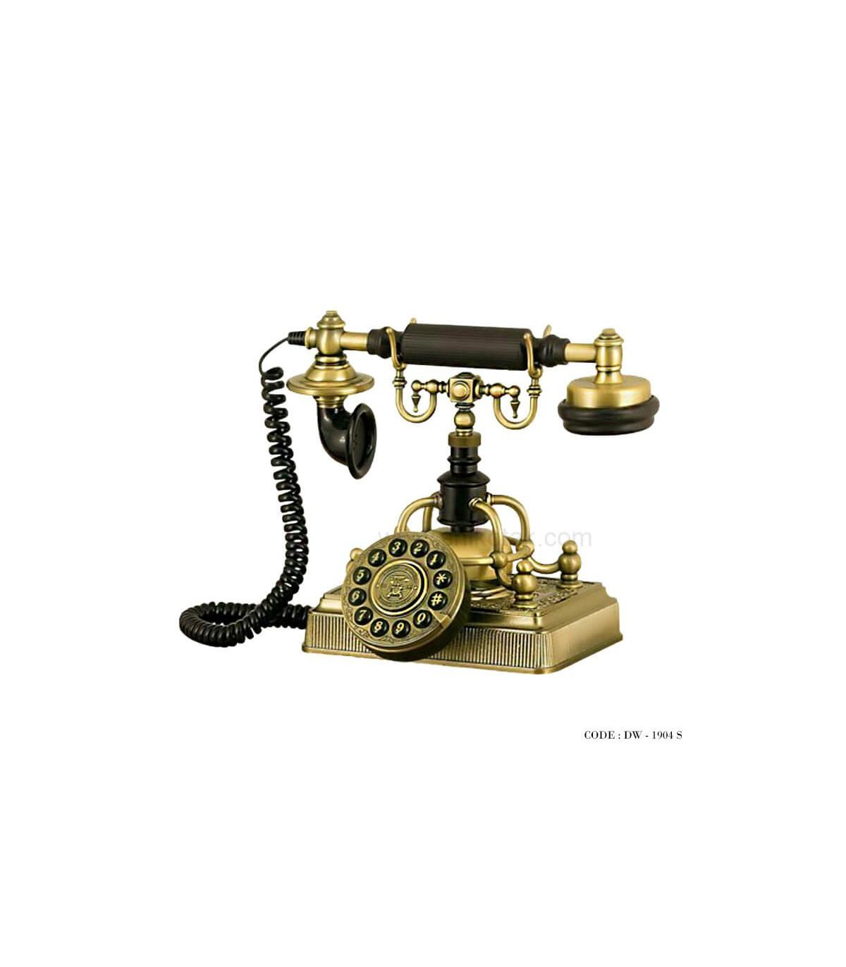 تلفن مدل قدیمی سری 1904