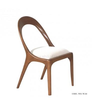 عکس میز و صندلی ناهار خوری 6نفره طرح بیضی