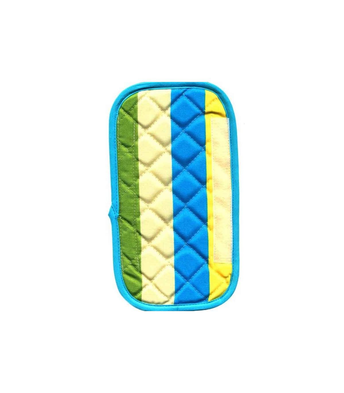 جدیدترین مدل سرویس پارچه ای اشپزخانه طرح رابید آبی