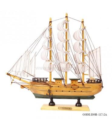 کشتی دست ساز چوبی مدل 2A