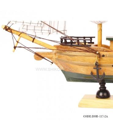 تصویر کشتی دست ساز چوبی مدل 2A