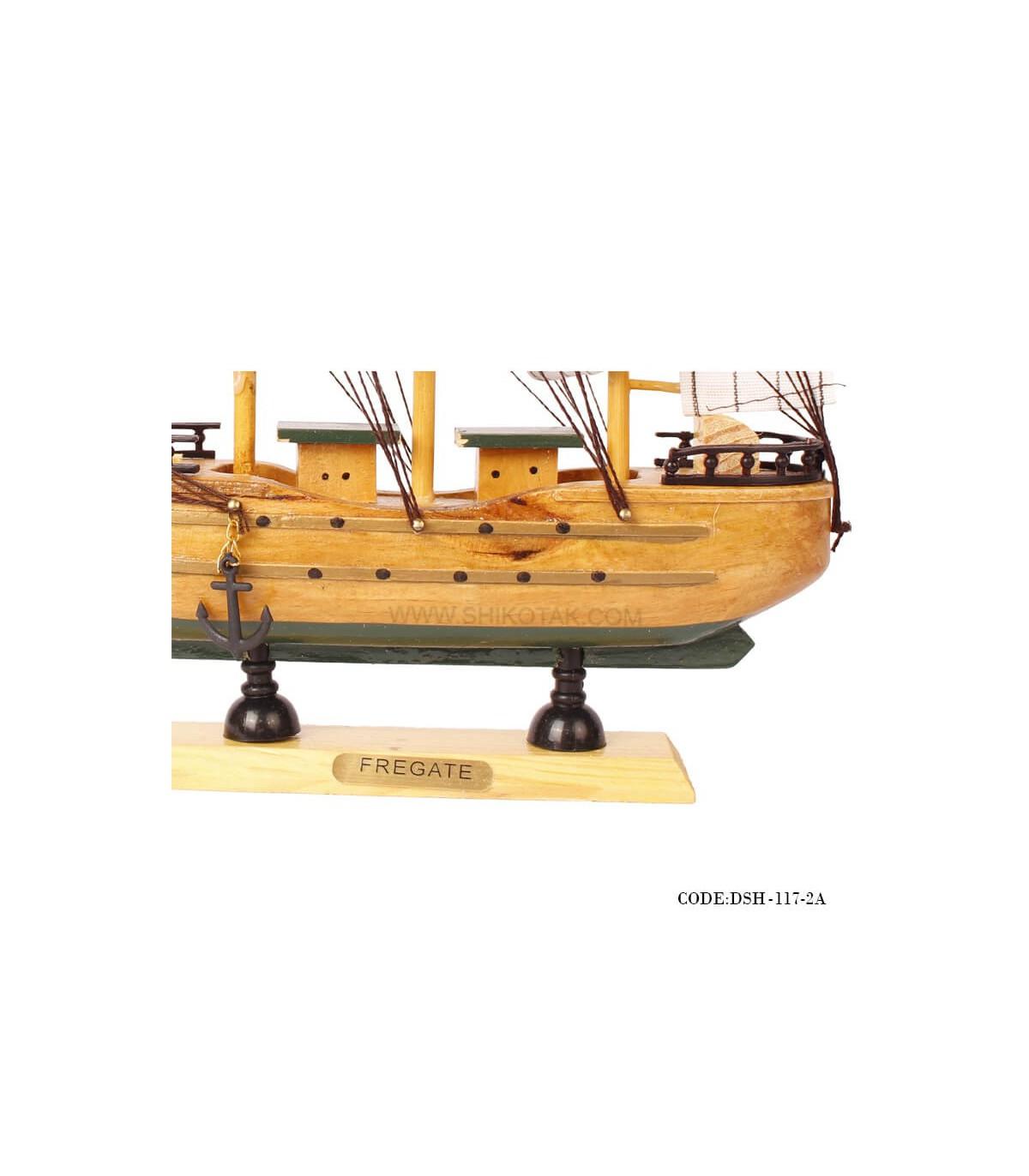 خرید اینترنتی کشتی دست ساز چوبی مدل 2A