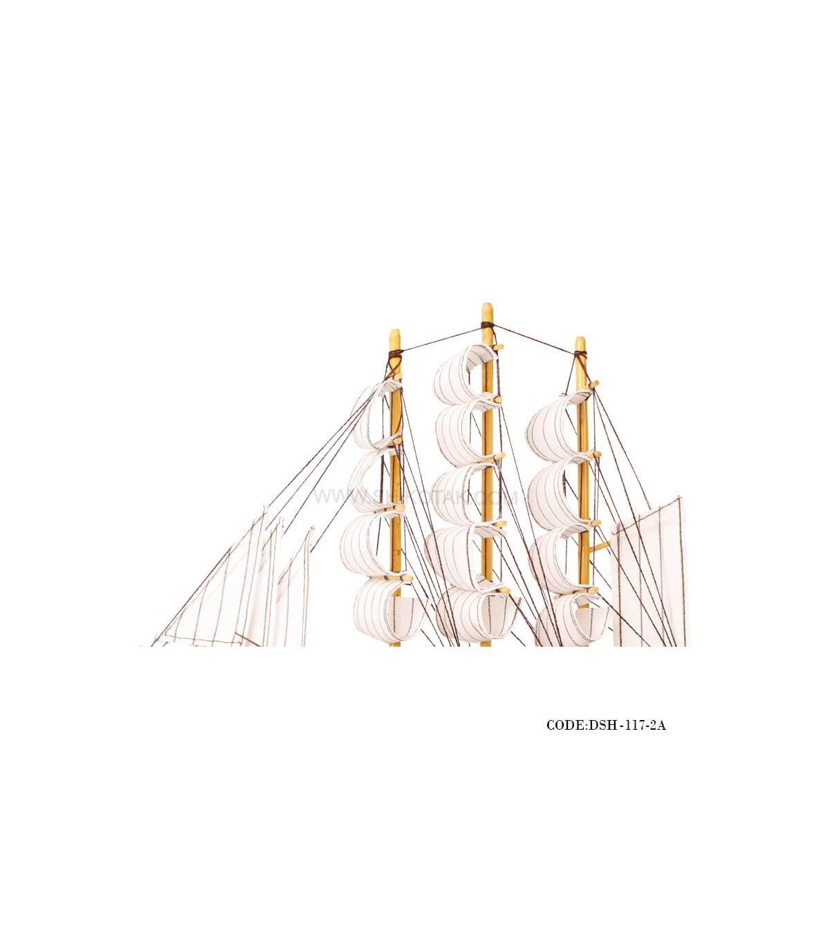 خرید آنلاین کشتی دست ساز چوبی مدل 2A