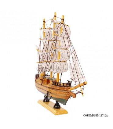 عکس کشتی دست ساز چوبی مدل 2A