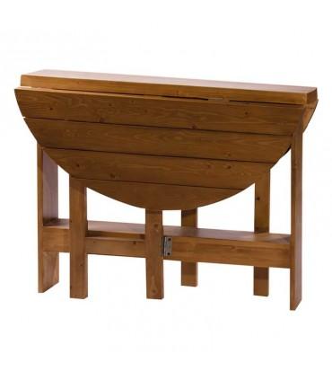 عکس ناهار خوری تاشوی چهار نفره چوبی