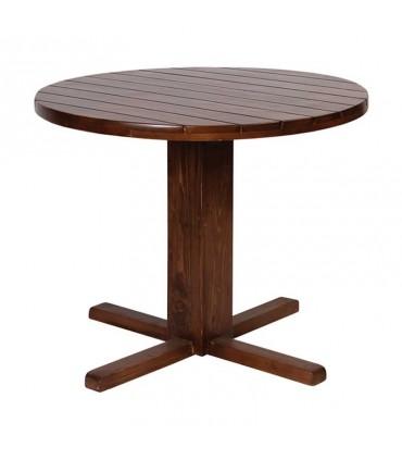 عکس سرویس میز و صندلی ناهار خوری سه نفره طرح نیمکت