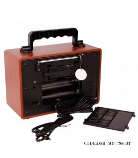 خرید اینترنتی رادیو طرح کلاسیک فلش خور مدل 1706BT
