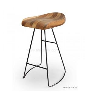 صندلی اپن بدون پشتی پایه فلزی مدل 250